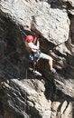 Free Climber Holding On Stock Photos - 2370703