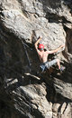 Free Rock Climbing Dare Devil 2 Stock Photo - 2370710