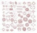 Free Mixed Elements Illustrations Royalty Free Stock Photo - 2376085