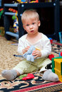 Free Playing Boy Stock Photography - 2379132