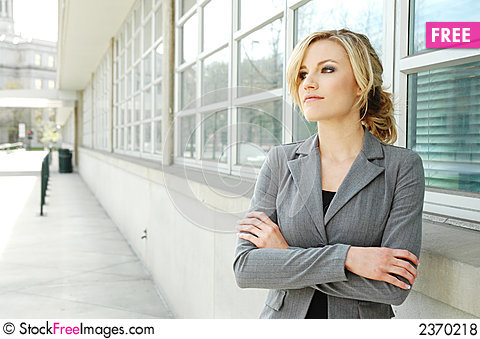 Free Business Woman Royalty Free Stock Photos - 2370218