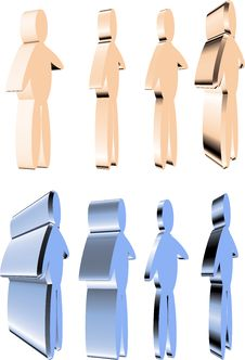 Free 3D People Royalty Free Stock Images - 2370229