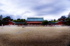 Free Heian Jingū Shrine Stock Image - 2370281
