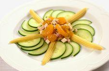 Free Mandarine Salat Royalty Free Stock Photography - 2371327