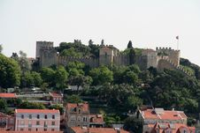 Free Mouros Castle In Lisbon Royalty Free Stock Images - 2371929
