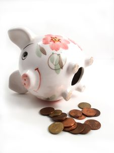 Free Piggy Bank 3 Stock Image - 2373071