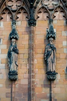 Free Sculptures At Lichfield Royalty Free Stock Images - 2373249