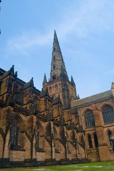 Free Side View Of Lichfield Stock Images - 2373304