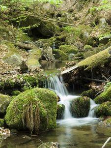 Free Mountain Stream Royalty Free Stock Photography - 2374557