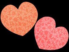 Free Two Loving Hearts Stock Photo - 2375710