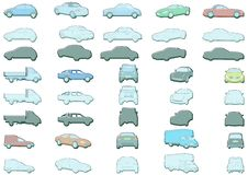 Free Car Illustrations Royalty Free Stock Photography - 2375997