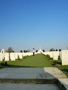 Free War Cemetery Royalty Free Stock Images - 2376819