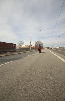 Free Biker Woman Stock Photography - 2376852
