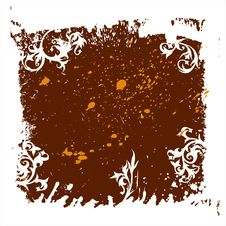 Free Calligraphy Grunge Background Stock Images - 2376854