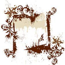 Free Calligraphy Grunge Background Stock Photo - 2376890