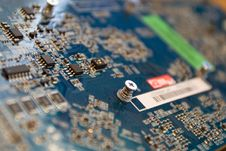 Microchips Stock Image