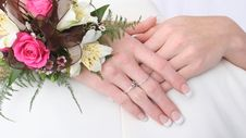 Free Female Hands Held Together Sho Royalty Free Stock Photo - 2377405