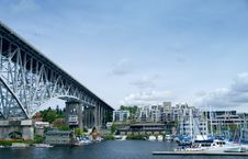 Free Aurora Bridge Ship Canal Stock Photos - 2377523