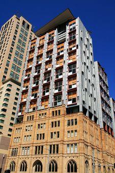 Modern Sydney City Skyscraper Royalty Free Stock Photography