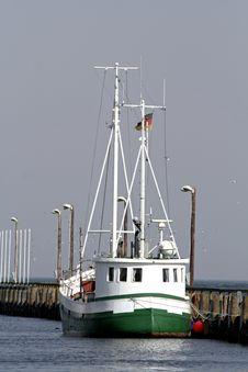 Free Fishing Boat Royalty Free Stock Image - 2377736