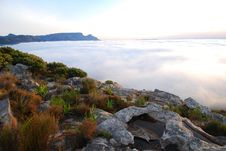 Free Table Mountain Clouds Stock Photo - 2377850