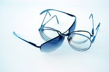 Free Glasses Linked For Fashion Stock Images - 2378744