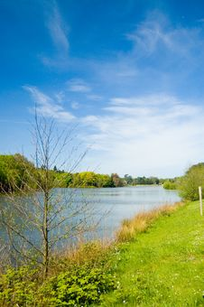 Free Spring At Trentham Lake Royalty Free Stock Photography - 2378817