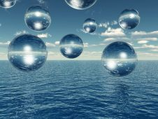 Free Water Balls Stock Photos - 2379393