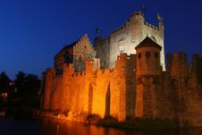 Free Gravensteen Castle Royalty Free Stock Images - 2379549