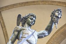 Perseus With The Head Of Medusa Royalty Free Stock Image