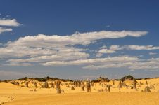 Free Pinnacles Landscape Stock Image - 23701021