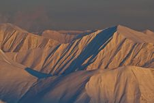 Free Mountains In The Evening Stock Images - 23701744