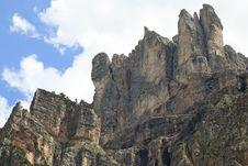 Free Vallunga Mountains Royalty Free Stock Image - 23702436