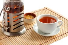 Free Fragrant Tea With Honey. Royalty Free Stock Images - 23703969