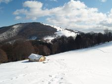 Free Winter Landscape Royalty Free Stock Photography - 23704137