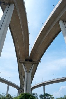 Free High Way Bridge 01 Stock Photos - 23709503