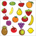 Free Vector Fruit Collection Royalty Free Stock Photo - 23714625