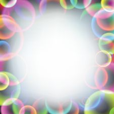Free Rainbow Soap Bubbles Royalty Free Stock Photos - 23713568