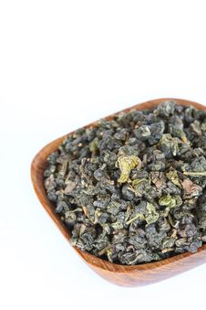 Dry Leaf Tea Royalty Free Stock Image