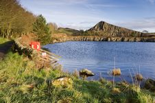 Free Cawfields Quarry Reclaimed Royalty Free Stock Photo - 23714255