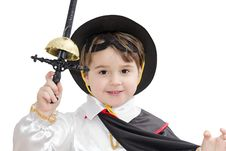 Free Boy With Carnival Costume Stock Photo - 23714530