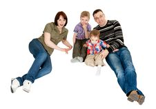 Free Family Of Four Stock Photography - 23714732