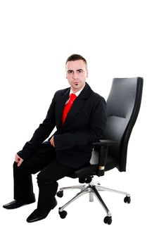 Free Sitting Boss Stock Images - 23716544