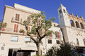 Free Olive Tree And Church Stock Photography - 23728312