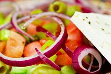 Free Fresh Salad With Cheese Royalty Free Stock Image - 23723506
