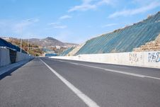 Free Road In Greece Royalty Free Stock Image - 23723556