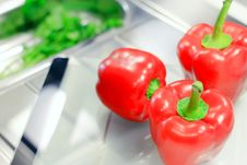 Free Red Peppers Royalty Free Stock Image - 23725986