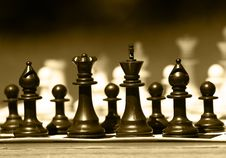 Free Chess-man Stock Images - 23729534