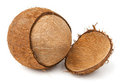 Free Cracked Coconut Royalty Free Stock Photo - 23731025