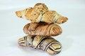 Free Three Croissants Royalty Free Stock Photography - 23734487